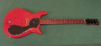 1961 Gretsch Corvette Guitar Body Neck Vintage Easy Project - Made In USA