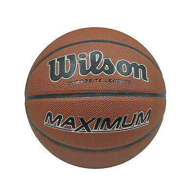 Wilson Basketball - Maximum Composite Leather - Ball Size 7 -  All Court Use