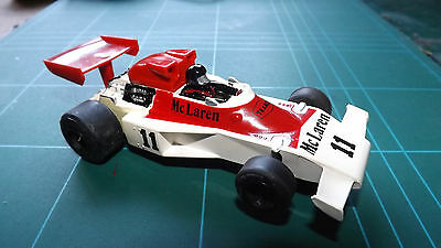 SCALEXTRIC McLAREN M23 F1 Car - Complete Tampo Version & With New Rear Tyres !