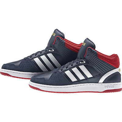 ADIDAS HOOPS JUMPSHOT MID navy AW5189  NEO Sneaker