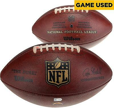 San Diego Chargers Game-Used Football vs Denver Broncos on October 13, 2016 1