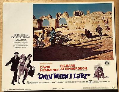 Only When I Larf Attenborough Hemmings directed Basil Dearden #1 lobby card 676