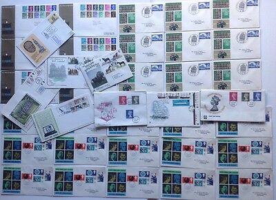 Quantity of First Day Covers including High Values etc