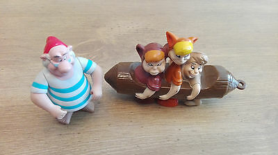 McDonalds happy meal toys. 2002, the lost boys and Mr Smee. Peter Pan. VGC.