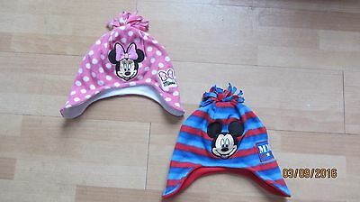 Mickey & Minnie Mouse Hats - size Toddler