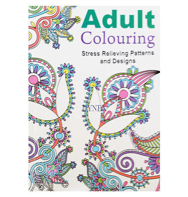 Adult Colouring Book Ocean Dreams Colour Therapy Anti Stress 64 Page Pages Calm