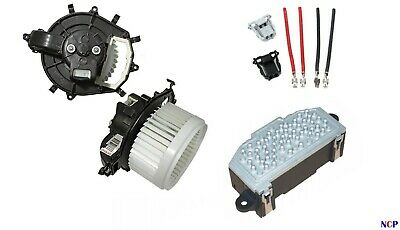 Citroen C4 Picasso Berlingo Peugeot Partner Heater Blower Motor Resistor & Loom