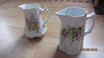 2 Decorative Ornametal Jugs