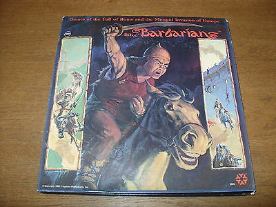 The BARBARIANS ('Sack of Rome / Mongol' Board Games) YAQUINTO Album Size