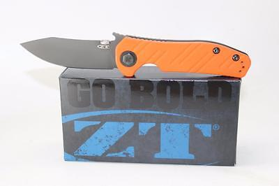 Zero Tolerance Sprint Run Emerson Pocket Knife Orange G10 & Titanium 0630ORBLK