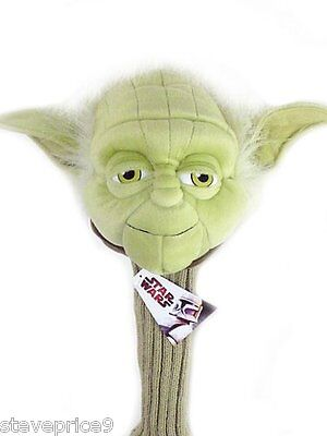 New Official Star Wars Yoda Golf Driver Headcover.