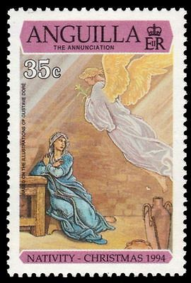 "ANGUILLA 915 - Christmas ""The Annunciation"" (pa84471)"