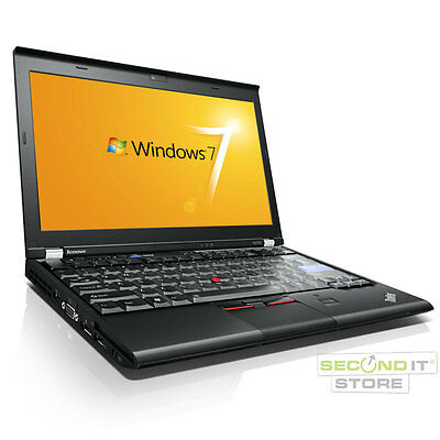 Lenovo ThinkPad X220 Notebook Intel Core i5 2x 2,5 GHz 4 GB RAM 320 GB HDD Win 7