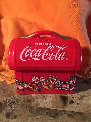 Coca-Cola Salt and Pepper Shakers Chest