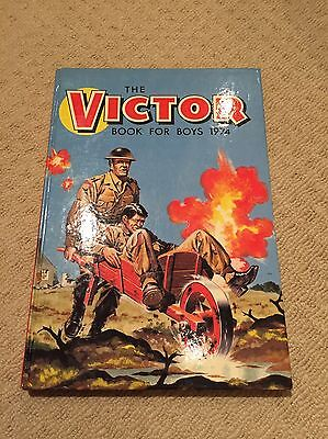 Dc Thomson The Victor Book For Boys 1974