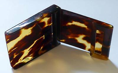 "Antique ""Faux"" Tortoise Shell - Match holder -lovely item!"