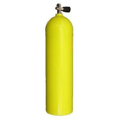 80cf Aluminum Scuba Diving Tank - Yellow