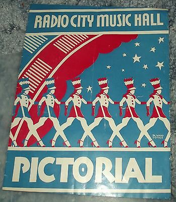 1947 Booklet and Playbill from Radio City Music Hall, New York City