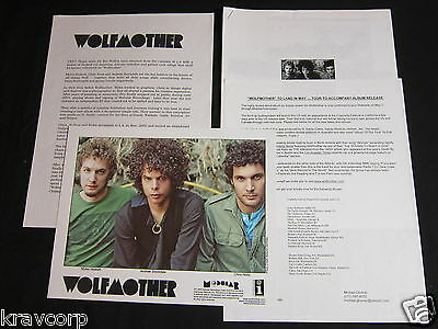 Wolfmother 'S/t' 2005 Press Kit—Photo