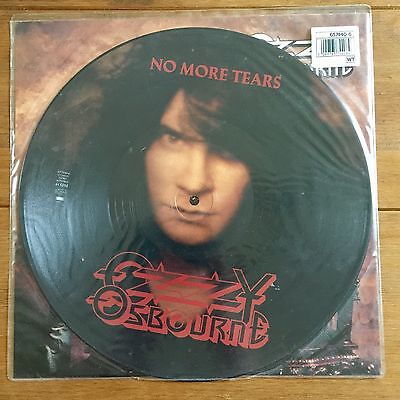 """Ozzy Osbourne - No More Tears  12"""" Picture Disc Vinyl"""
