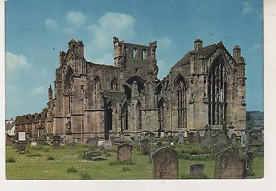 Melrose Abbey. Postcard in GC. Unwritten/Unposted