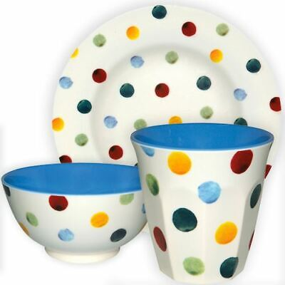 Emma Bridgewater - Polka Dot - Melamine - Available in Plates, Bowls or Beakers