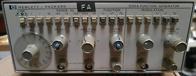 HP Agilent 3312A Function Generator .01 - 13 MHz Sine Triangle Square qty