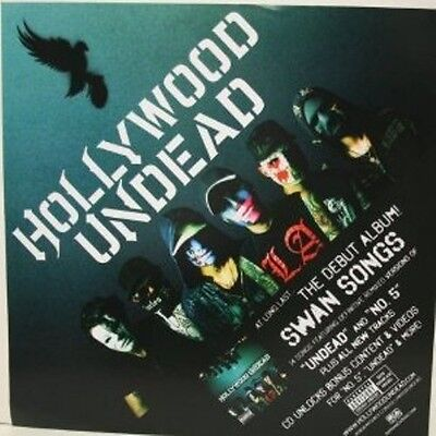 Hollywood Undead Swan Songs Clingz Sticker/Poster Very Rare