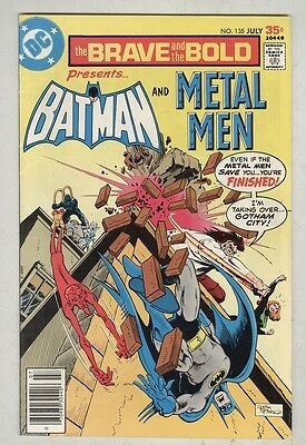 Brave and the Bold #135 July 1977 VG/FN Metal Man