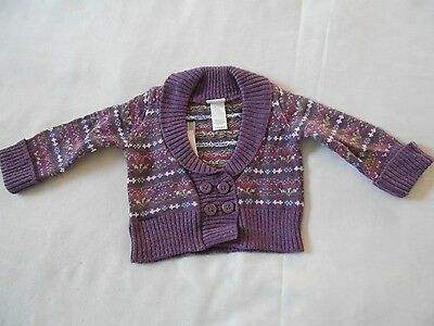 Janie and Jack Girls Sweater 3-6 Months New with Tags