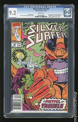 Silver Surfer (1987 2nd Series) #44 CGC 9.2 (1360608009)