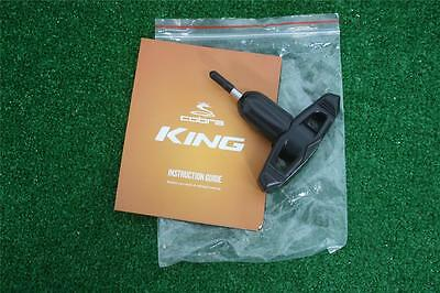 NEW Cobra Golf King Torque Wrench with Instruction Guide