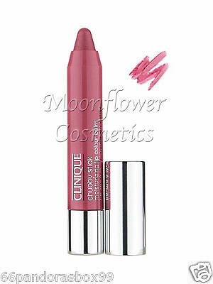 Clinique Chubby Stick ♡ SUPER STRAWBERRY ♡ FULL SIZE 3g NEW BOXED Pink Lipgloss