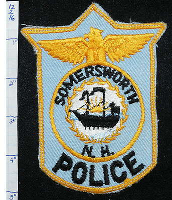 New Hampshire, Somersworth Police Dept Patch