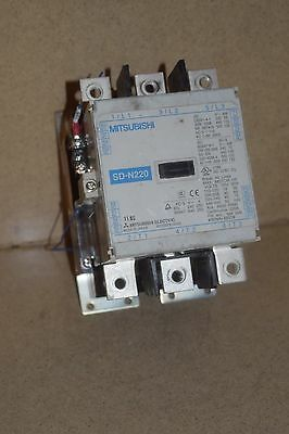 @@ Mitsubishi Sd-N220 Magnetic Contactor (Dd)