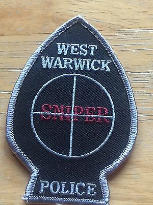 Obsolete Patch - West Warwick, RI Police Sniper Patch