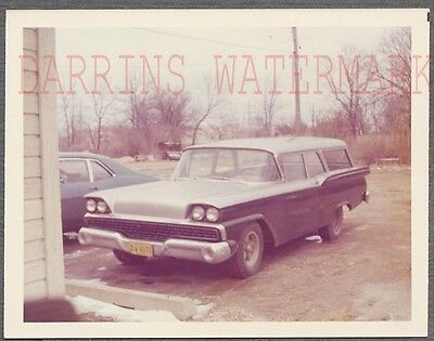 Vintage Car Photo 1959 Ford Ranch Wagon Automobile 722368