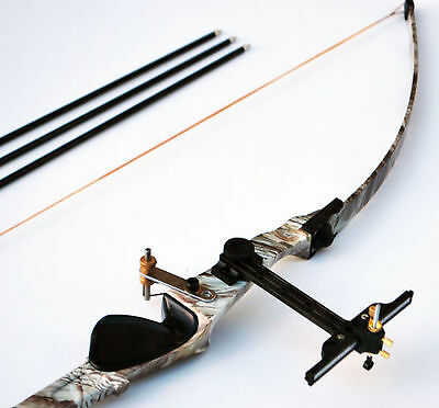 Adult Archery Long Bow 22lb with free arrow kit Target Practice 1.25kg
