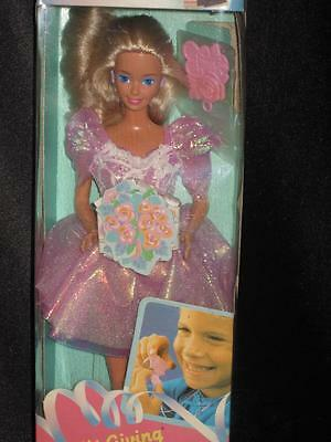 Vintage 1988 GIFT GIVING Barbie Doll  #1205 NRFB Gift Necklace for you