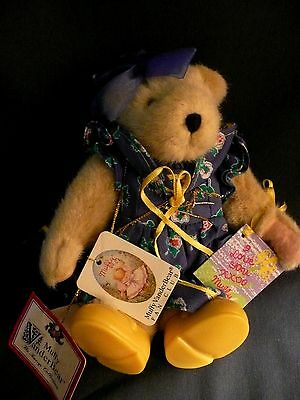 MUFFY VANDERBEAR Plush DOLL from TEA CUP COLLECTION by North American Bear NABCO