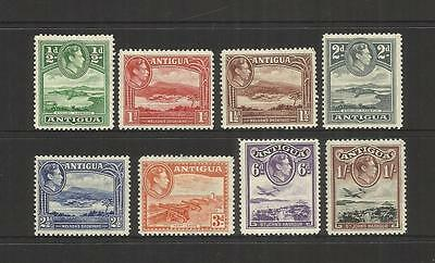 Antigua ~ 1938-51  King George Vi Definitives (Mint Part Set Mh)