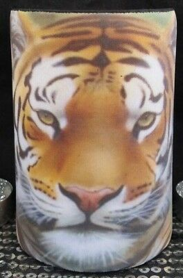 ANIMAL PRINTS - TIGERS -Stubby holder- 7 DESIGNS - Choose one only - GREAT GIFT