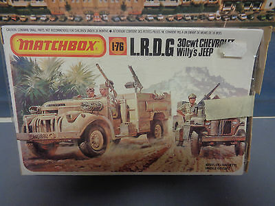 Matchbox PK 173 1-76 L.R.D.G.  30 cwt Chevrolet Willy´s Jeep    1:76       S9/10