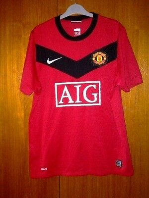 Manchester United Football Shirt Nike Home 2009/10 size M 39/41