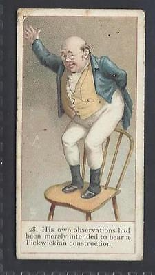Cope - Dickens Gallery (Back-Listed) - #28 Samuel Pickwick