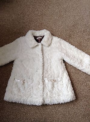 Girls Fur Coat Minimode Collection 4-5 Years