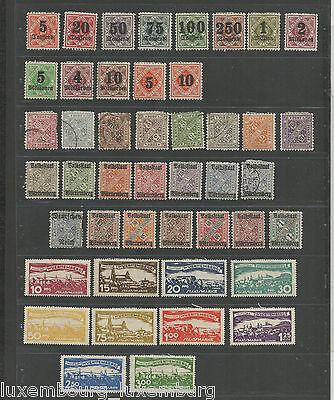 NOV 132 Germany - Wurttemberg mixed selection of EARLY stamps MH/USED good $$