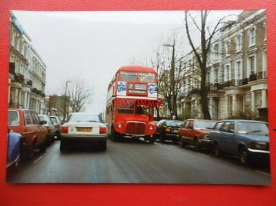 Photo  London Transport Routemaster Bus View 2