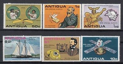 Antigua 1976 Special Events. Set. MNH. VF.