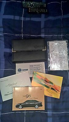 Saab 95 2000 Owners Manual And Document Holder Ideal For Completist